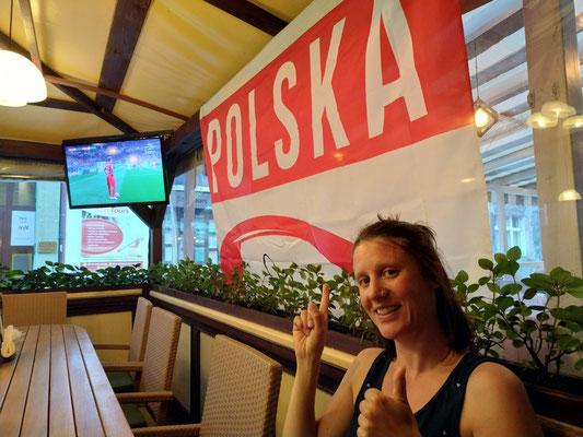 Yeahh Fußball WM und Polen war dabei!!