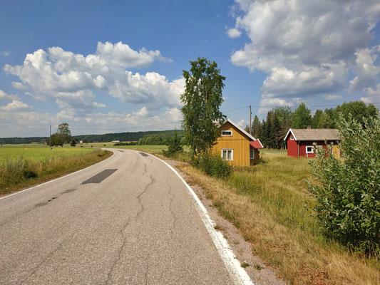 Finnische Häuser