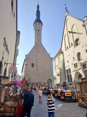Tallinn, mittelalterliche Altstadt