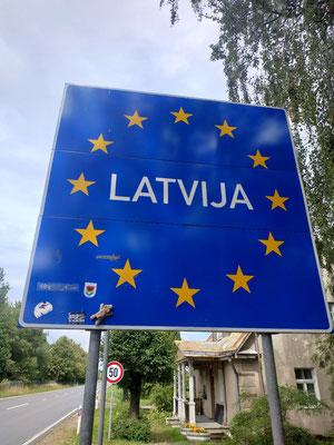 Stups in Lettland