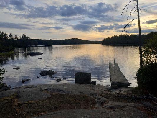 Wieder ein schöner Platz am See