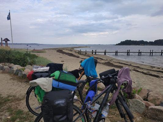 An der seeehr windigen Ostsee