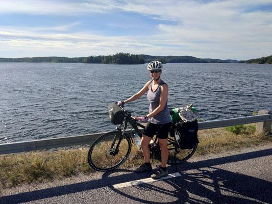 Überall Seen in Schweden