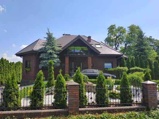 Wunderschöne Häuser in Polen