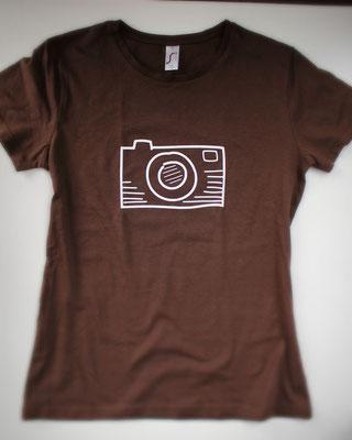 Shirt mit Kameramotiv