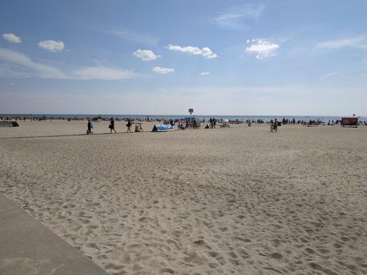 Pärnu Beach in Estland