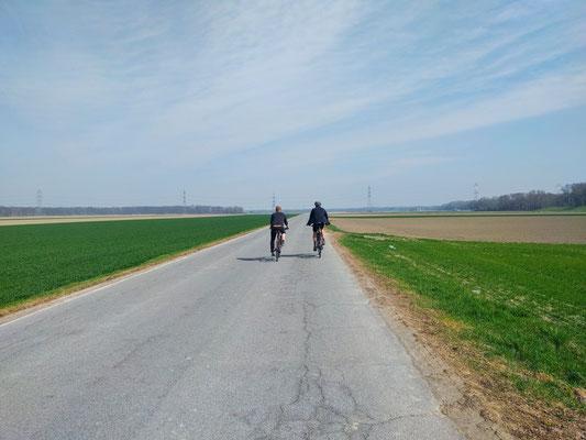 Auf dem Weg nach Orth an der Donau