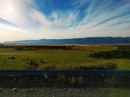 Weite Landschaft in Patagonien