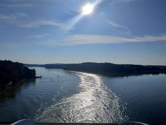 Mit der Fähre von Turku nach Stockholm
