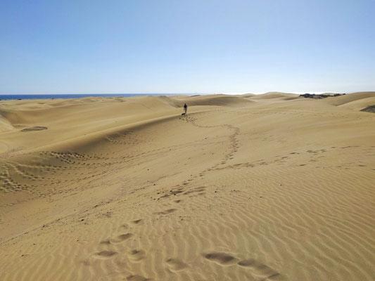 Maspalomas im Süden von Gran Canaria