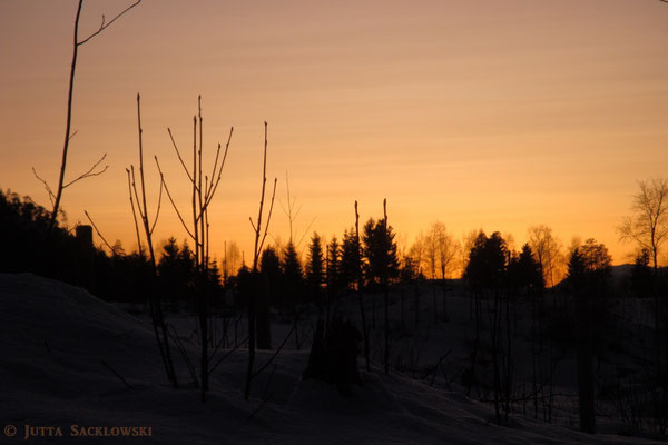 Sonne ist untergegangen