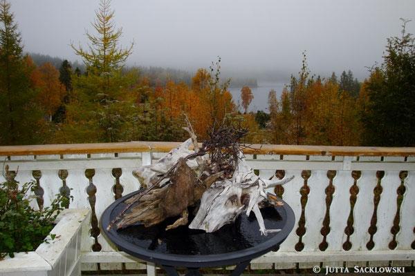 Herbst auf der Terrasse
