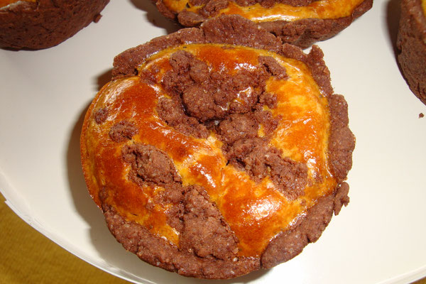 Russische Zupfkuchenmuffins