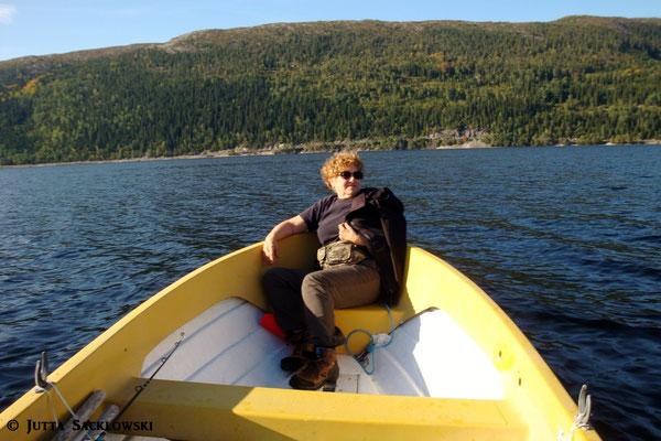 Letzte Bootstour für dieses Jahr