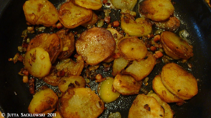 Knut´s knusprige Bratkartoffeln