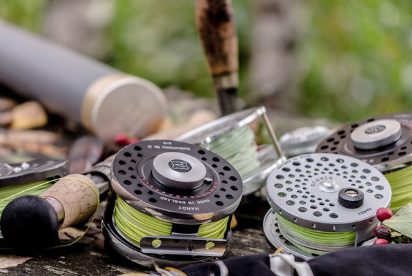 Fliegenfischerschule Allgäu - richtiges Equipment ist wichtig