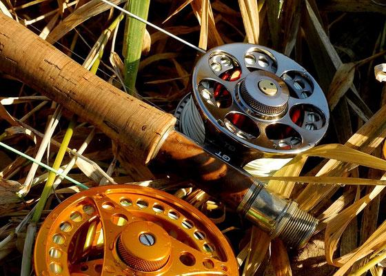 Fliegenfischerschule Allgäu - auch über die Ausrüstung lernen wir eine Menge