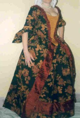 Robe à la française - Régence