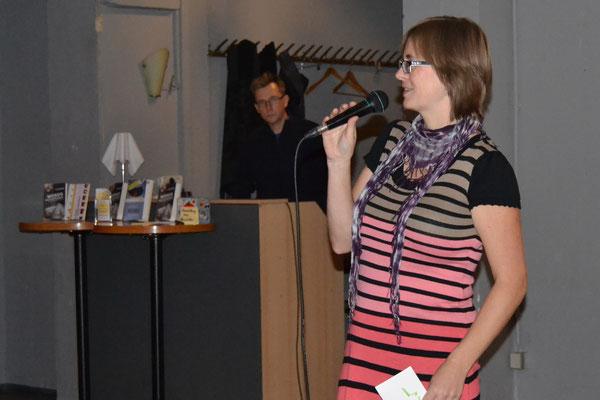 Bianca Heidelberg begleitete das Pubkikum durch das Programm.