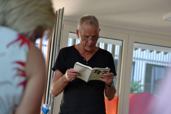 Von seinen Erlebnissen in Ungarn berichtete Konrad Fischer.