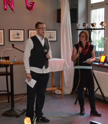 Bianca und Björn führten die Gäste gewitzt durch den Abend.