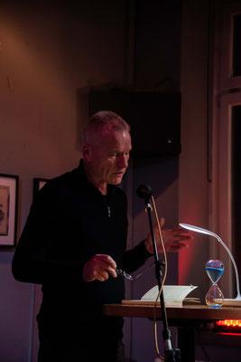 Konrad Fischer stand bereits zum zweiten Mal auf unserer Lesebühne.