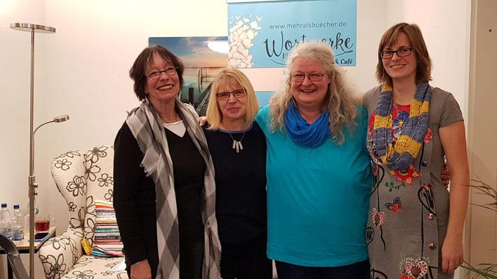 Hedda Fischer, Monika Huhn, Uli Baumgärtel und Bianca Heidelberg
