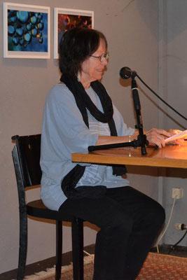 Hedda Fischer unterhielt uns mit einer Sklavengeschichte.