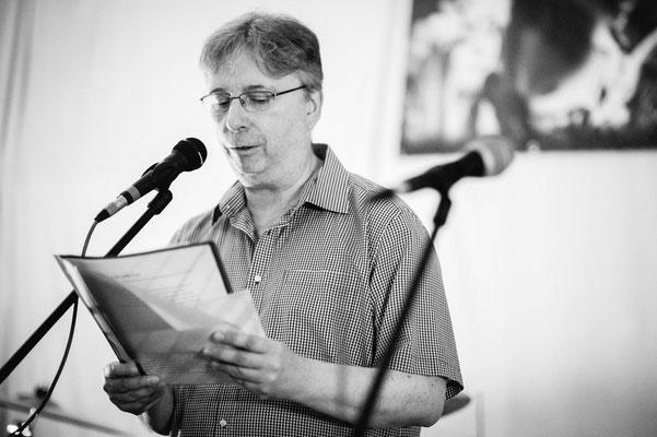 Tom H. Eschen, der Science Fiction-Schreiber unter den Schreibtischtätern (Foto: CPmalek, Bildbearbeitung: Nicole Malek)