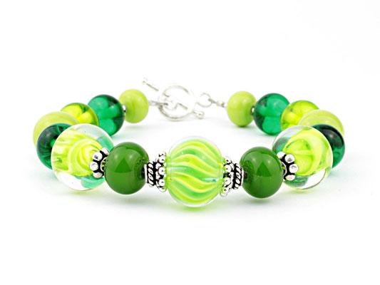 Armband Wave Grün