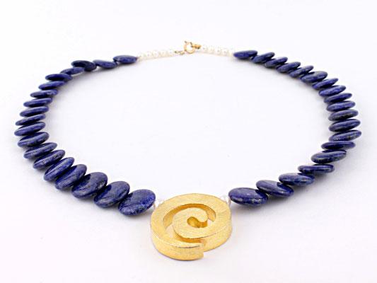 Lapis Lazuli Schuppenkette