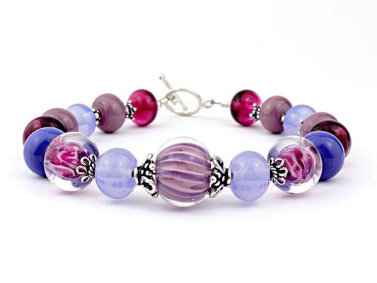 Armband Wave lila