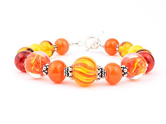 Armband Wave orange