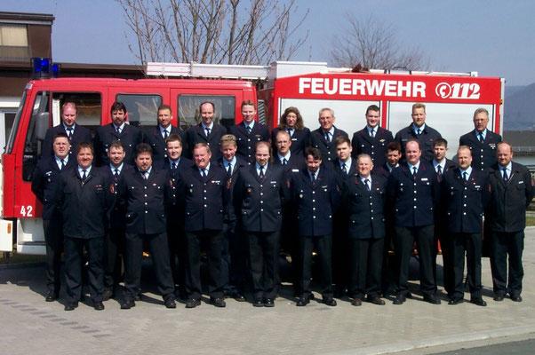 Mitglieder im Jahr 2003 zum 75 jährigen Jubiläum