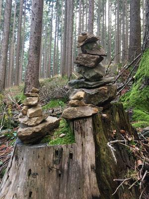 Stein-Objekt in der Natur