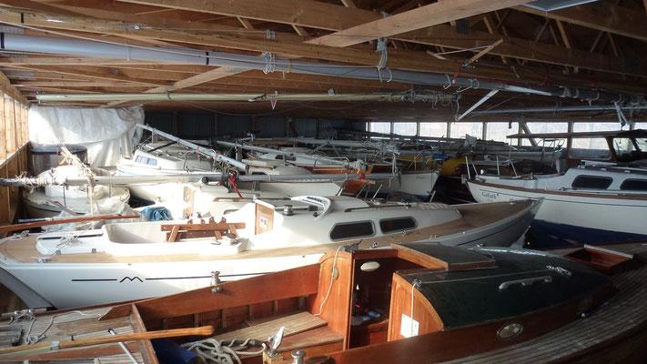 Winterlager Boote Ratzeburg