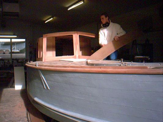 Bootsrestaurierung Restaurierung Bootsbau Sager Innenausbau Cockpitausbau