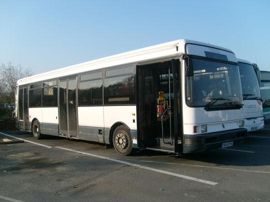 Renault R312, Dépôt