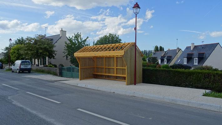 L'arrêt Clos Gilcourt a été récemment rénové. Photo Antoine H.