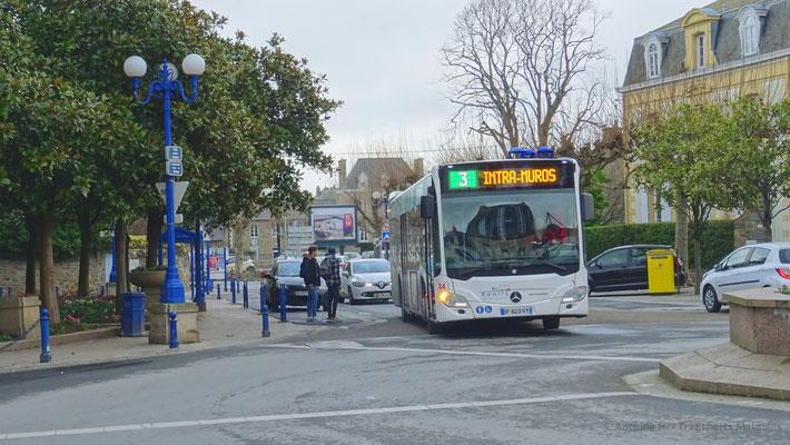 Mercedes Citaro 2 N, Paramé Mairie