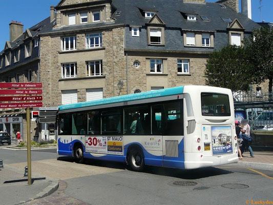 Heuliez Bus GX127 N°21, Saint-Servan Mairie