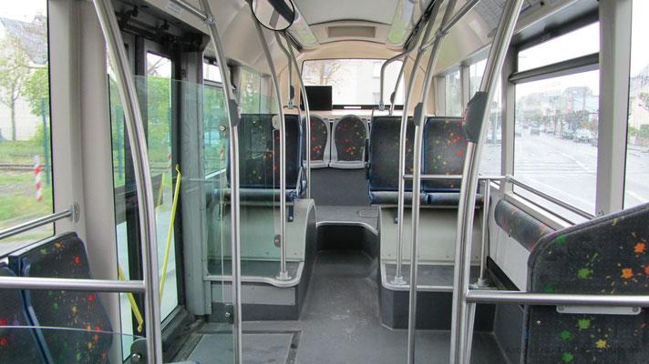 Intérieur de l'Heuliez Bus GX127 N°21