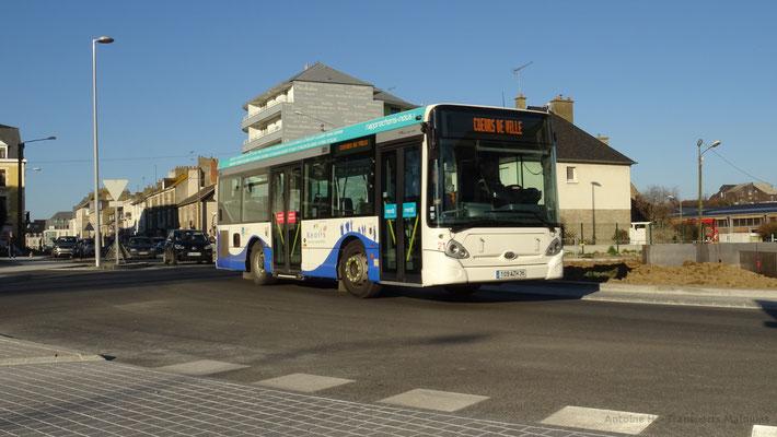 Heuliez Bus GX127 N°21, Talards