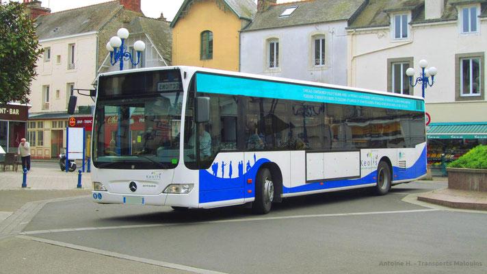 Mercedes Citaro 1 N Fl, Paramé Mairie.