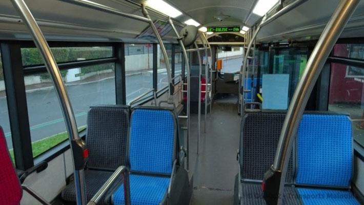 Les sièges sont désormais au type des véhicules les plus récents. ©O530.C2