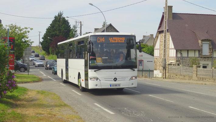 Mercedes Intouro du réseau MAT, Saint-Méloir Gare La Gouesnière.