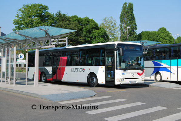 Crossway LE 13350, Gare Routière