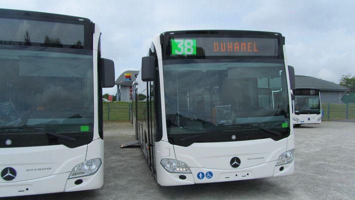 Mercedes Citaro 2 N, SAMI Bretagne
