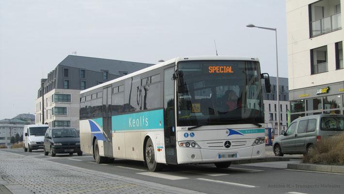 Mercedes Intouro du réseau MAT, Gares.