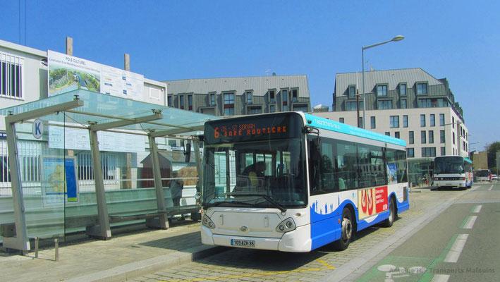 Heuliez Bus GX127 N°21, Gares